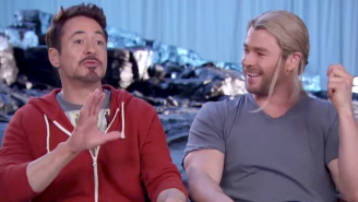 'Avengers: Age Of Ultron' Rolls Out A Ton Of Behind-The-Scenes Footage