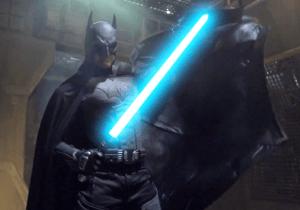 Batman Gets His Revenge In This Alternate Version To The Epic 'Batman vs Darth Vader' Battle