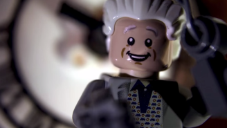 This Is What 'Back To The Future' Would Look Like If Created Entirely In Lego Bricks