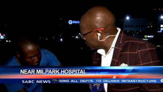 Watch This South African Reporter Get Mugged Live On Camera