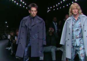 Ben Stiller And Owen Wilson Crashed Paris Fashion Week As Their 'Zoolander' Characters