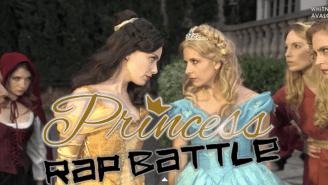 Watch Sarah Michelle Gellar As Cinderella In A Disney Rap Battle