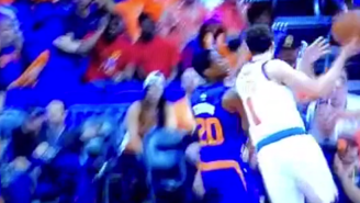 Alexey Shved Bends The Laws Of Physics To Make This Bucket