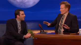 Here's Zachary Quinto And Conan O'Brien Sharing Some Touching Memories Of Leonard Nimoy