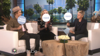 Justin Bieber And Madonna Played 'Never Have I Ever' With Ellen And Bieber Probably Lied