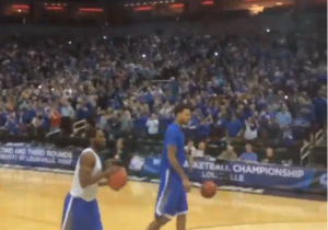 Kentucky Fans Are Really Something, Filled Entire Lower Bowl For Team's Open Practice