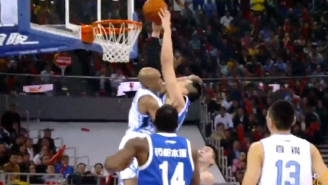 "Stephon Marbury Posterized By ""Chinese Shaq,"" But Later Seals The Game With Clutch Play"