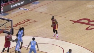 Hey, Kenneth Faried, You Might Want To Guard James Harden