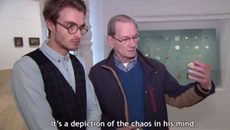 Watch These Museum Patrons Praise An IKEA Art Print As 'Modern' and 'Unbelievable'