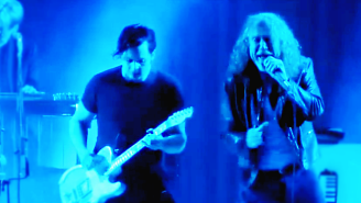 Watch Jack White Rock Out With Robert Plant On This Cover Of Led Zeppelin's 'The Lemon Song'