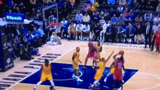 James Harden Shakes, Bakes, Takes George Hill