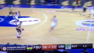 Bogdan Bogdanovic Goes Glass From 75 Feet In This Crazy Euroleague Buzzer Beater