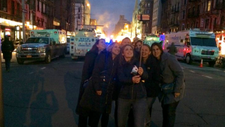 Terrible People Are Taking Selfies In Front Of New York's East Village Blast Site