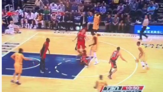 George Hill Absolutely Shreds Lou Williams' Ankles