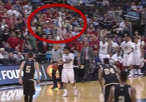 Someone Threw A Shoe On The Court In The Arkansas Game And Nothing Makes Sense