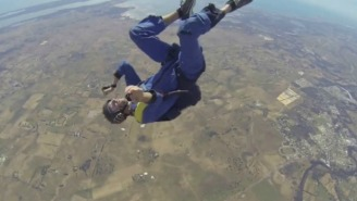 A Guy Had A Seizure While Skydiving In This Distressing Video