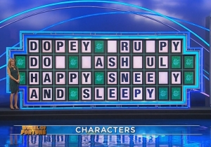 This 'Wheel Of Fortune' Contestant Needs To Brush Up On Spelling And Disney Movies