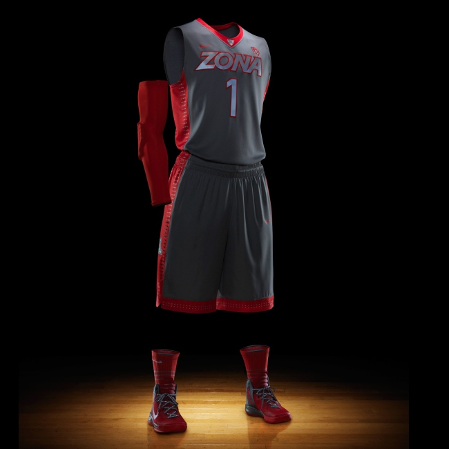 2012 Nike Hyper Elite Platinum NCAA Uniforms