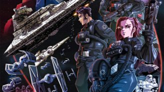 What If The TIE Fighters From 'Star Wars' Got Their Own Anime Series?