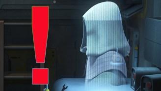 289 days until Star Wars: Can you believe [REDACTED] showed up on 'Star Wars Rebels'!?
