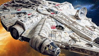 277 days until Star Wars: This insane Millennium Falcon papercraft will blow your mind