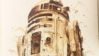 270 days until Star Wars: The best part of waking up, is R2-D2 coffee art in your cup