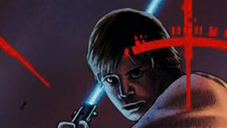 273 days until Star Wars: Luke is caught in the crosshairs in STAR WARS #6 cover