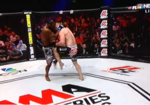 This Double Nut Shot Is The Best Moment In MMA History