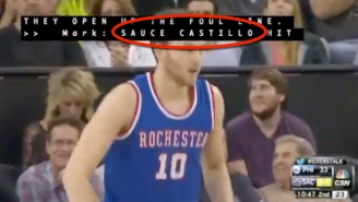 Thanks To This Blessed Closed Captioning Error, Nik Stauskas Is Now 'Sauce Castillo'
