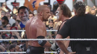 Sting Thinks People Took His WrestleMania Loss To Triple H Too Personally