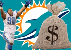 Ndamukong Suh Reportedly Signing With The Dolphins For $60 Million Guaranteed