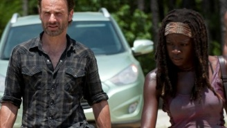 How Those Crazy Michonne/Rick Shippers Reacted To THAT Scene In 'The Walking Dead' Finale