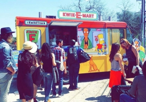 'The Simpsons' Are Giving Out Free Squishees At SXSW Thanks To This Traveling Kwik-E-Mart Truck