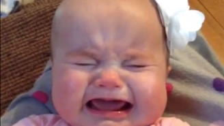 This Crying Baby Really Loves Taylor Swift's 'Blank Space'