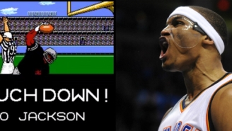 Russell Westbrook Is Basically Bo Jackson From 'Tecmo Bowl'