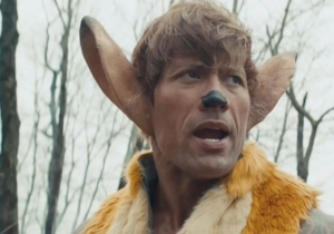 The Rock Is A Gun-Toting Bambi In 'SNL's Gritty Remake