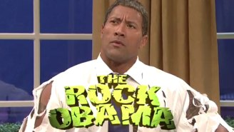 The Rock brings 'The Rock Obama' back to 'Saturday Night Live'