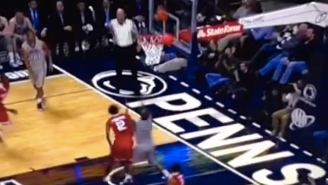 Ohio State's Sam Thompson Scores In A Way We've Literally Never Seen Before