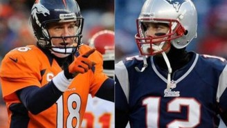 Check Out This Freaky Mashup Of Tom Brady And Peyton Manning