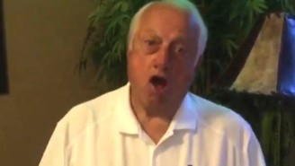 This Is A Video Of 87-Year-Old Tommy Lasorda Dancing To 'Turn Down For What'