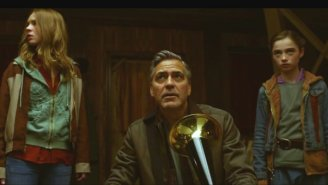 George Clooney Junks A Ton Of Evil Robots In These New 'Tomorrowland' Clips