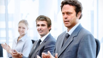 Vince Vaughn Had No Idea He And The 'Unfinished Business' Cast Were Posing For Those Stock Photos