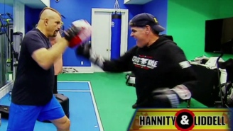 Watch Chuck Liddell Teach Sean Hannity How To Throw Haymakers