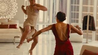 Ronda Rousey And Michelle Rodriguez Duke It Out In This New 'Furious 7' Clip