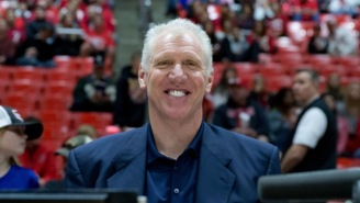 Bill Walton Explains 'Being Milked,' His Teepee & The Biggest Moment Of His Career