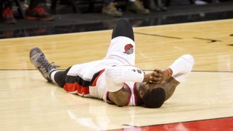 Wesley Matthews Tears His Left Achilles' Tendon, Is Done For The Season