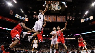 Tony Parker Goes Spin Cycle on Aaron Brooks And Diaw and Duncan Approve
