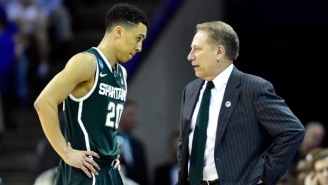Tom Izzo Tells His Players To Stick Their Phones 'Where The Sun Doesn't Shine'