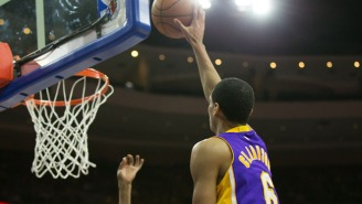 Rookie Jordan Clarkson Floats In Game-Winner To Beat The Sixers In Overtime