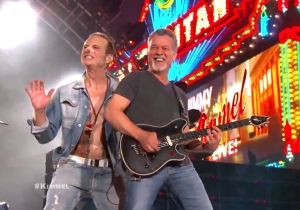 Watch Van Halen Perform On TV With David Lee Roth For The First Time In Decades